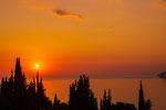 Sonnennuntegang oberhalb Agios Gordis No.2