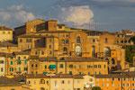 Siena im Abendlicht Toskana