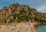 Strand von Li Cossi an der Nordküste