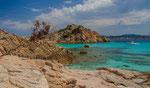 Inselgruppe bei La Maddalena