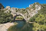 Pont d'Arc bei Vallon