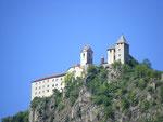 Un des nombreux châteaux de la vallée.