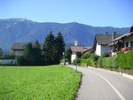 La piste vers Bruneck.