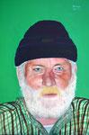 Hubert, Öl auf Holz, 36x42cm, 2011