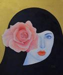 Unbefleckte Empfängnis /  / Immaculate Conception, Öl  auf Leinwand, 50 x 60 cm, 2020, Oil on canvas.
