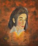 Ausgebrannt / burned out: Öl auf Leinwand 50 x 60 cm, 2014. Oil on canvas.