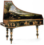 Italian Harpsichord Single-manual, Original Girolamo de Zentis 1658 ©2007-2013, Piccola Accademia di Montisi