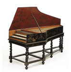 Harpsichord Bancroft, Vaudry Family, 1681, © Victoria and Albert Museum