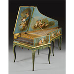 Jean Marie Dedeban, (fl Paris, 1770-1791), A two-manual harpsichord, Paris, 1770 © 2015 Sotheby's