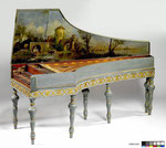 Late 17th century Cristofori Harpsichord, Collection Geneviève Thibault de Chambure