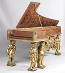 Cembalo, einmanualig, Anonym, 2. Hälfte 17. Jahrhundert, Italien, I.A.Baffo, Germanisches Nationalmuseum Nürnberg  ©Foto: M. Runge