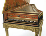 Harpsichord France, Pascal-Joseph Taskin 1786 and 1856 (restoration (process)). © Victoria & Albert Museum, Lond