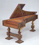 Harpsichord from Girolamo Zenti, Rome, Italy 1666  Photo © The Metropolitan Museum of Art