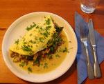 Omelett mit Winterrüblingen