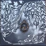 """"""" Ange acier """" -  30 x 30 cms - 230 €"""
