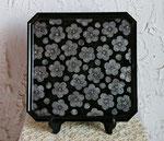 隅切盆「 梅 」 33.4×33.4×2cm