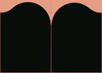 Doppelbild Schwarz - 1967 / 130:180 cm