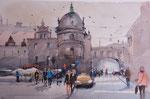 Taschenbergpalais in Dresden   36x51 cm,gerahmt 60x80
