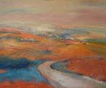 """""""Toskana bei Siena"""" 80 x 100 cm    960,-"""