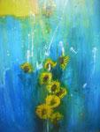 """Sonnenblumen"" 70x90 cm 680,-"