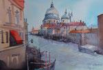 Venedig Canale Grande  36x51 cm, gerahmt 60x80  € 380,-