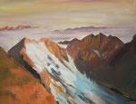 Karwendelgebirge in Tirol  80x100 cm   € 790,-