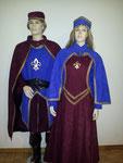 Mittelalter Kostüm je Fr. 43.-, ähnliche Kostüme> 4 Stk., Gr. M-XL