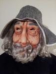 Hut mit Haaren, Fr. 9.- inkl. Maske Fr. 14.-
