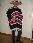 original Mexikaner-Poncho, Fr. 26.- inkl. Hut
