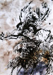 Matière vive - 2012 - 50x40 - encre de chine