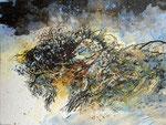 Dans l'herbe  - 2012 - 32 x 24- encre de chine, aquarelle
