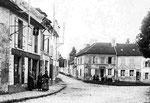 Traversée deVilleneuve-sous-Dammartin vers 1910