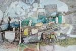 13.03.2016 Stahlfeder  Sepiatusche,Aquarellfarbe auf Saunders Waterford-Bütten (37,5cm x 56,5 cm)