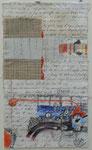 -Leichte Lebensformel-(2005)  32x18 Aquarellfarbe ,Tusche