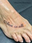 small tattoo by Mauri Manolibera Tattoo - freehandtattoo /Mauri's Tattoo&Gallery, Borgomanero (Italia)