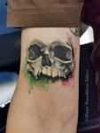watercolor tattoo by Mauri Manolibera Tattoo - freehandtattoo / Mauri's Tattoo&Gallery, Borgomanero (Italia)
