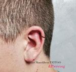 Piercing&Dermal by Mauri Manolibera (Maurizio Lombi) Mauri's Tattoo&Gallery, Borgomanero (Italia)