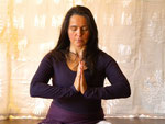 Namaste in Anjali Mudra