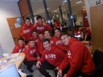 Equipe de rugby junior polonaise venue nous soutenir