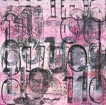 EDWARD, Acrylfarbe, Druck auf Lw. 60 x 60 cm
