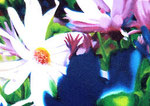 「花板〜青の時代〜」// アクリル、パネル/ 2006