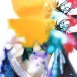 「鏡花水月〜rainbow2〜」/8S/ アクリル、パネル、綿布
