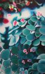 「水の中の春」/80F/ アクリル、パネル