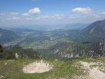 Am Predigtstuhl/ Lattengebirge 1610 Meter   Sommer 2012  ca.15 km  Luftlinie von Anger