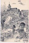 Pels (Marcel DEPELSENAIRE) le pays d'ath Irchonwelz  Le vieux pont de pierre