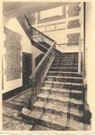 Ath THILL, NELS, Ern. Thill Collège Saint-Julien - Ath   Escalier d'entrée