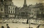 Ath Anonyme [sans légende  Ath Grand'Place Fête nationale 1919]