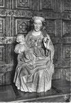 Houtaing NELS, Thill HOUTAING La Vierge à la pomme, statue du XVe s.