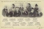 Ath Belgica Les Combattants de 1830 décorés ... J-B DUBOIS ... Ath