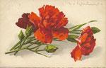 Jounok 176 [2 oeillets rouges, 1 rouge foncé, bouton - horizontal]